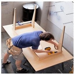 Сборка столов по низким ценам в Петрозаводске от специалистов