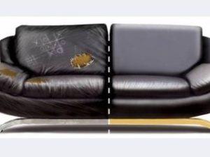 Перетяжка кожаного дивана в Петрозаводске